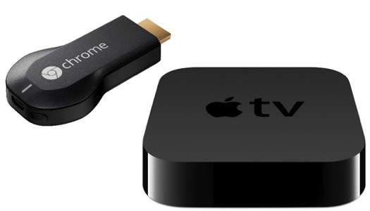 apple tv, chromecast