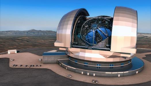 e-elt, teleskop