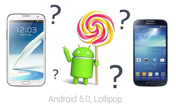 samsung, android lollipop