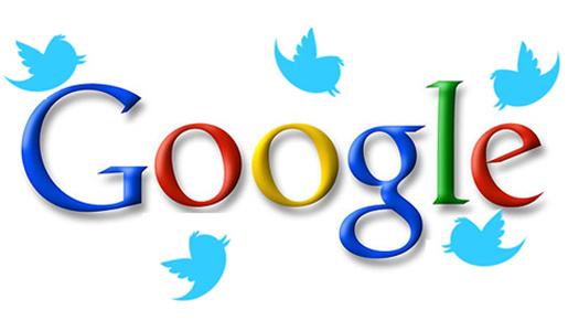 google, twitter