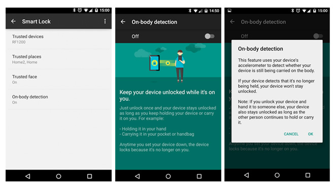 android-body-detection