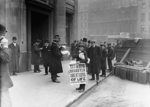 London Newsboy Advertising  Loss