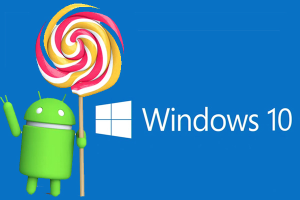 windows, android