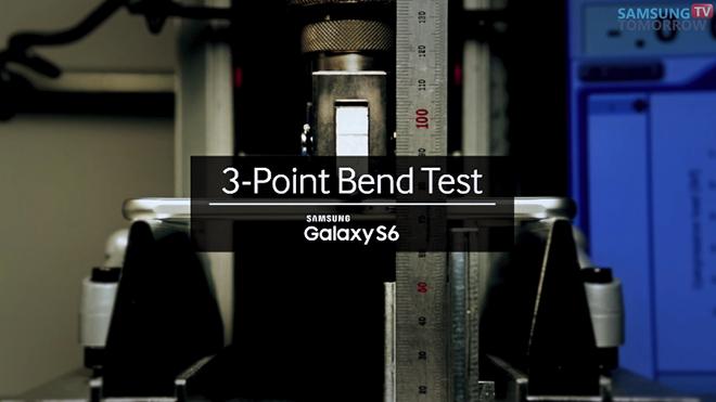 galaxy s6 bükülme testi