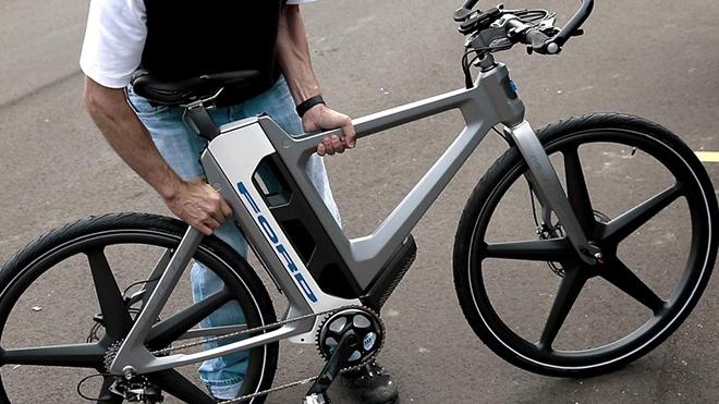 Ford Yeni Elektrikli Bisiklet Konseptini Tanıttı Video Log