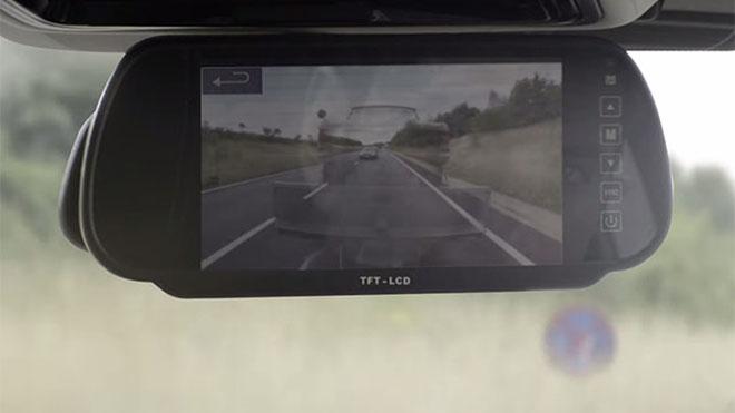 Land Rover, dikiz aynası