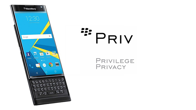 BlackBerry Priv, le immagini delle schermate di avvio dell'OS Android - 1
