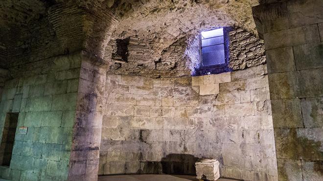 Diocletian's Palace merdivenleri