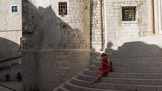 Dubrovnik Old Town'un içi