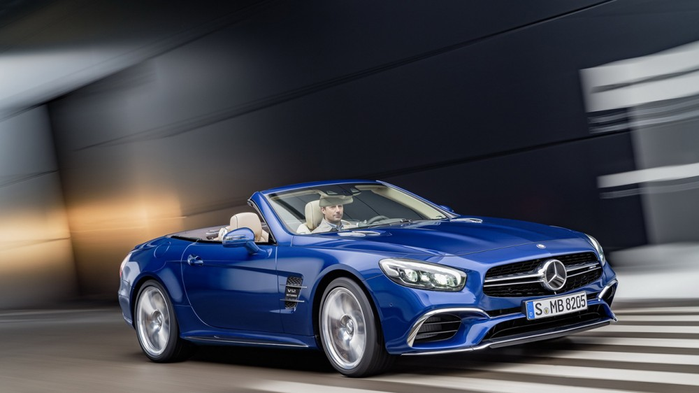 Mercedes-AMG SL 65, Brilliantblau