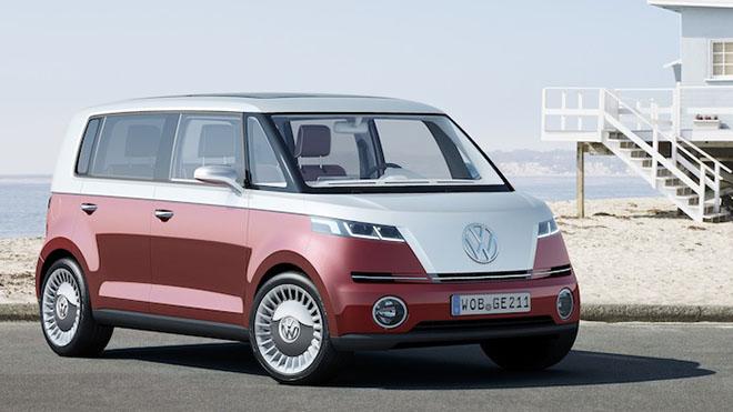 2011 sergilenen VW Bulli Microbus konsepti