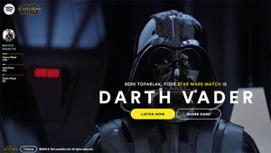 star wars, spotify