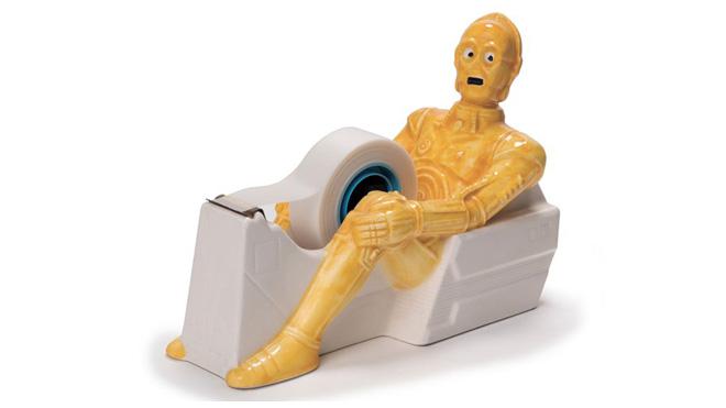 C-3PO bant kesici. Ofis masanızın vazgeçilmezi olmaya aday.