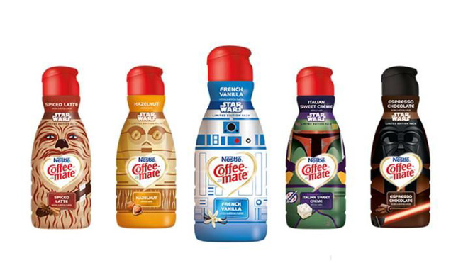 Star Wars Coffee Mate. Çünkü neden olmasın?