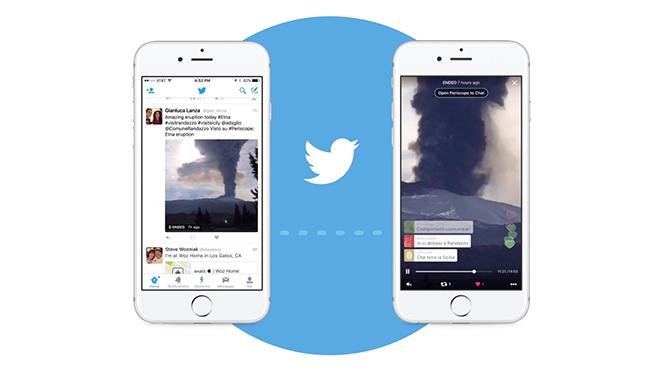 Periscope, Twitter