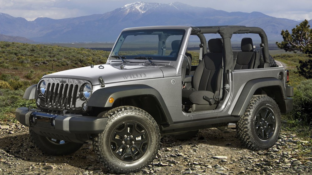 2016 Jeep® Wrangler Willys Wheeler Edition