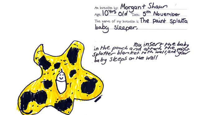 Duvara asılan bebek oturtacağı. Duvarda uyusun diye tabii.