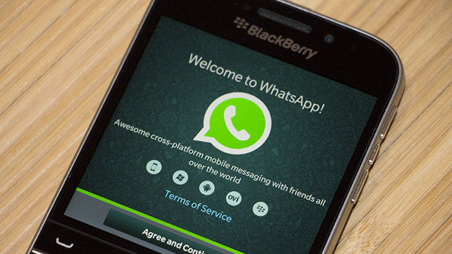WhatsApp, BlackBerry