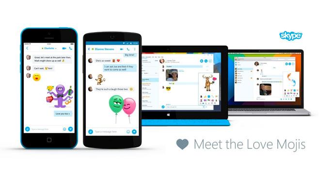 Skype Love Mojis