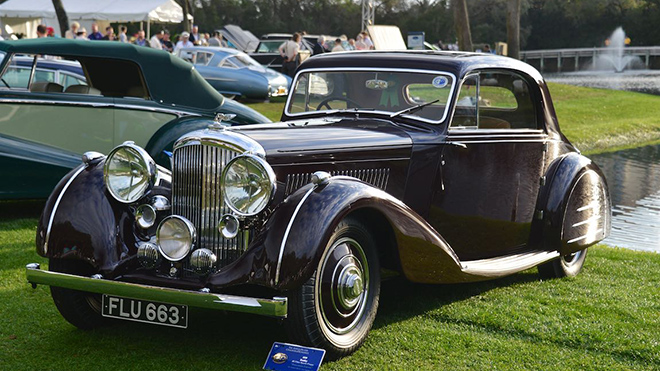 1939 Bentley 4.25 Litre Sports Coupe 'Honeymoon Express'