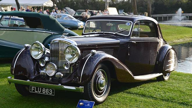 1939 Bentley 4.25 Litre Sports Coupe 'Honeymoon Express'