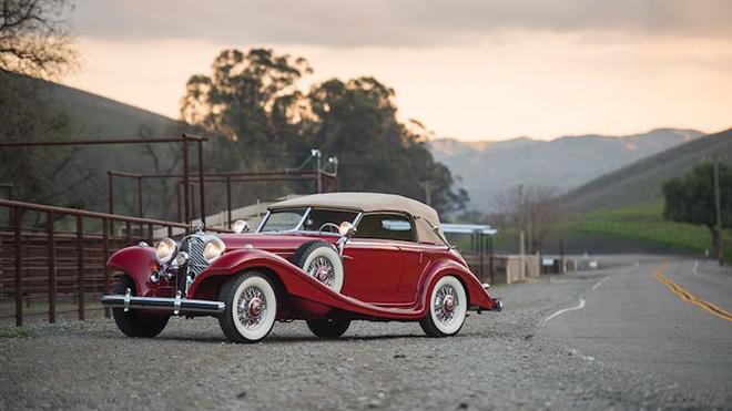 1939 Mercedes-Benz 540 K Spezial Cabriolet