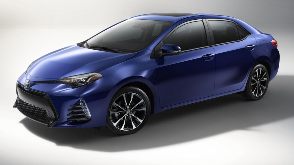 2017 Toyota Corolla Amerika versiyonu