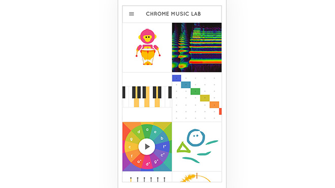 Chrome Music Web