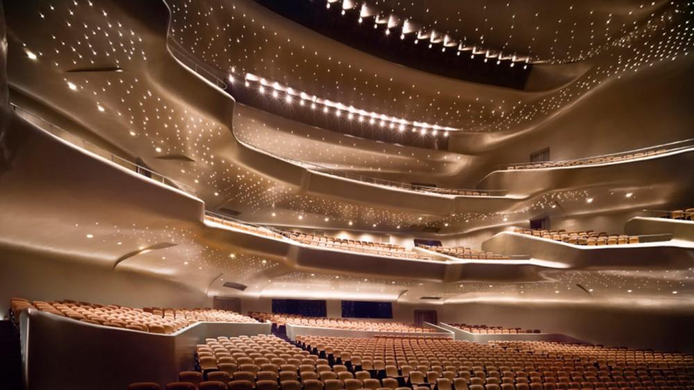 Guangzhou Opera Binası, Guangzhou