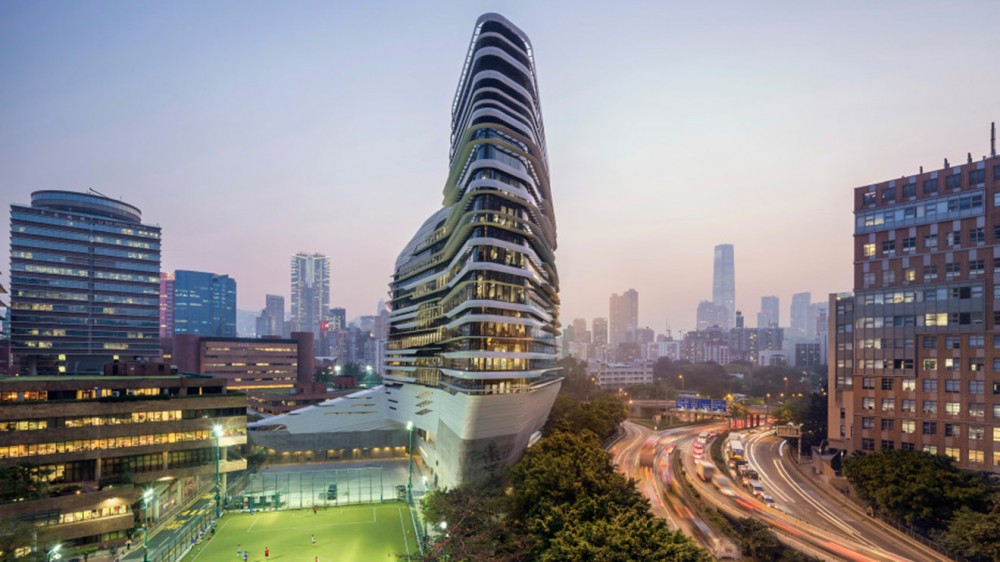 The Jockey Club Innovation Tower, Hong Kong