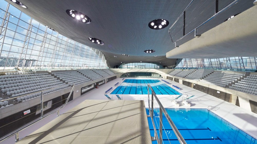 The London Aquatics Center, Londra