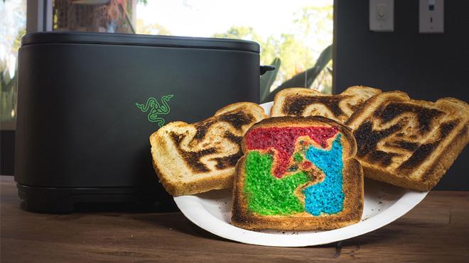 Razer'ın ekmek kızartma makinesiyle oyuncuların kalbine