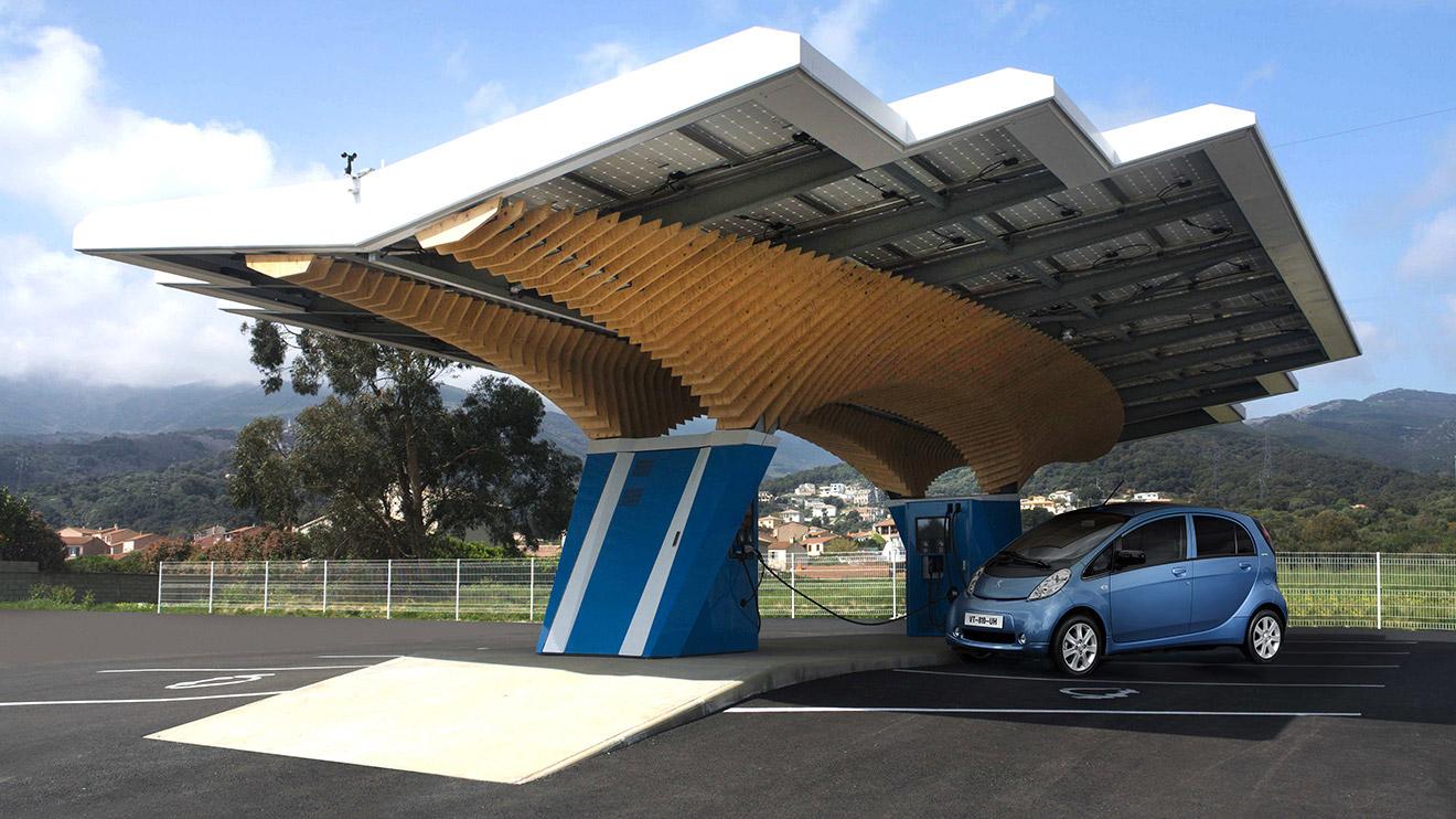 Peugeot geleceğin şarj istasyonunu geliştirdi
