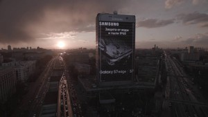 galaxy s7 edge billboard