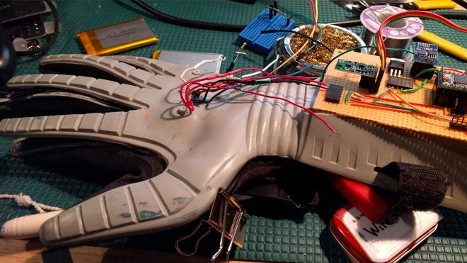 power glove drone