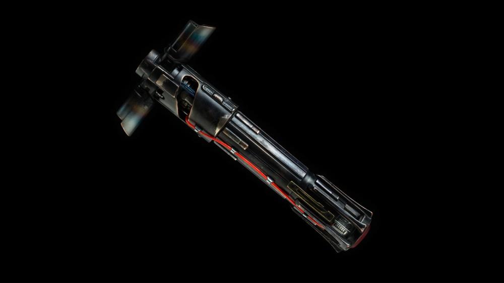 Kylo Ren'in ışın kılıcı kabzası - 1.250 dolar