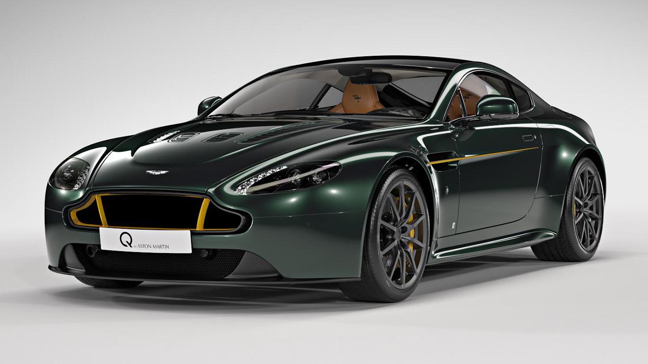 İngiliz savaş uçağı Aston Martin Vantage S ile canlandı