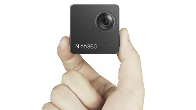 Dünyanın en küçük 360 derece kamerası