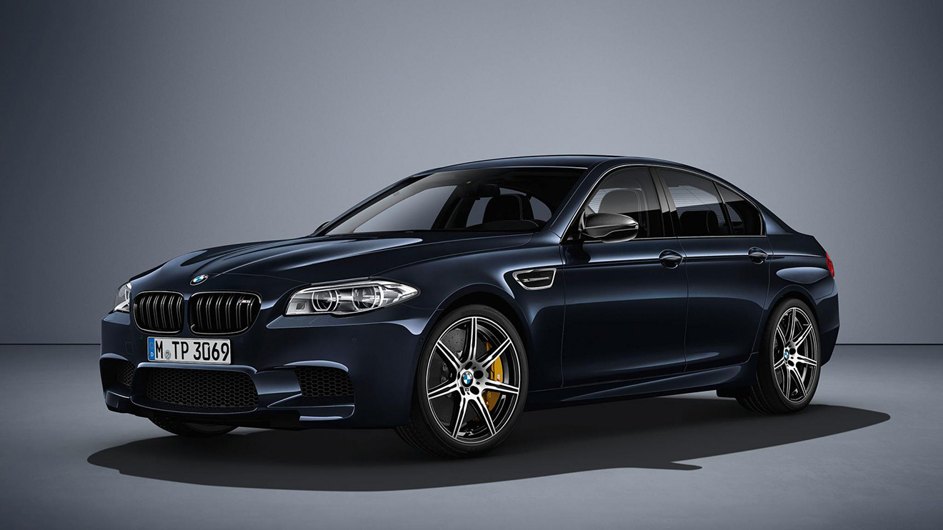 BMW M5 600 beygire dayandı
