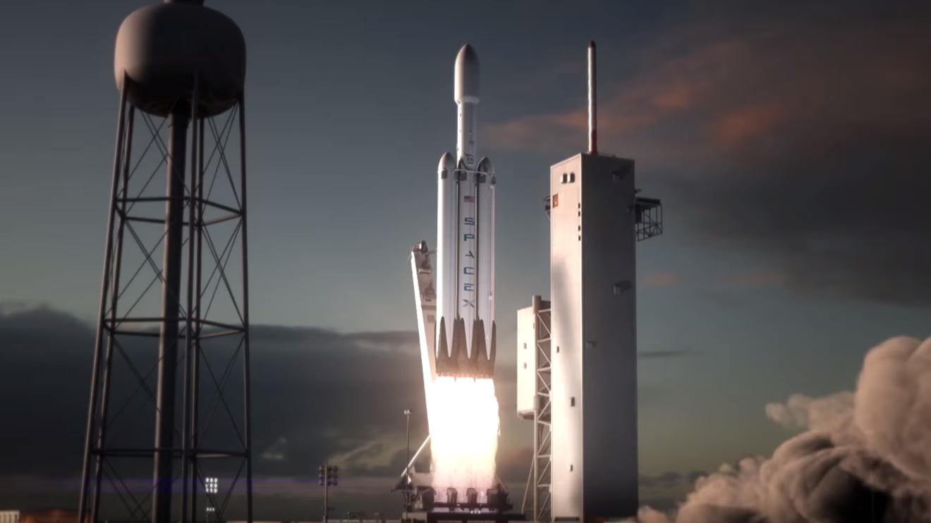 SpaceX üç roketi aynı anda indirmeyi deneyecek