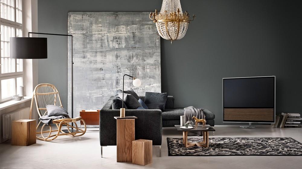 bang olufsen 39 den estetik harikas 4k tv beovision 14 video log. Black Bedroom Furniture Sets. Home Design Ideas