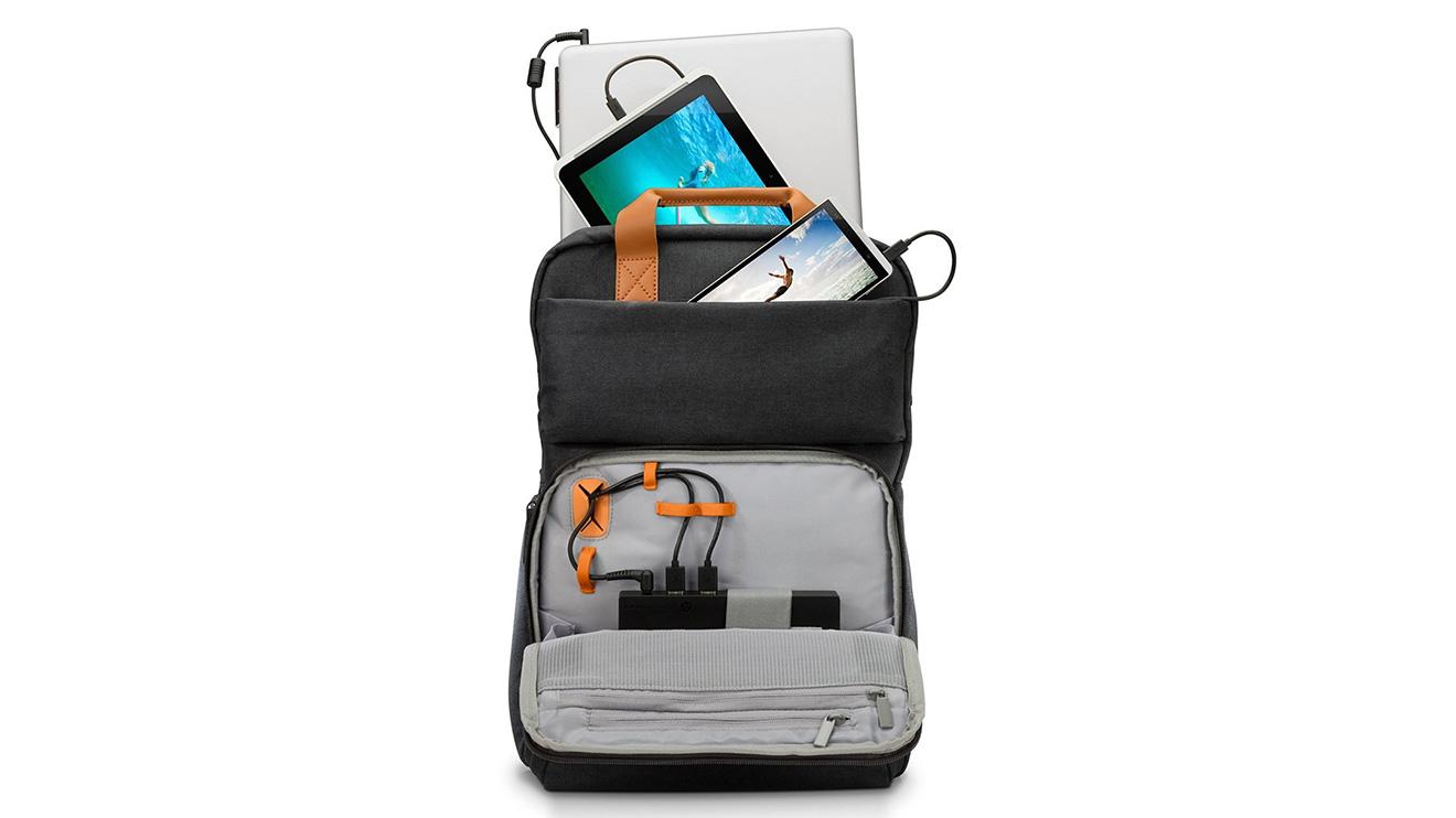 HP'den mobil cihazları şarj edebilen sırt çantası [Video] - LOG