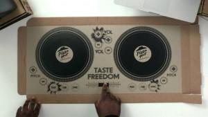 pizza hut UK DJ set