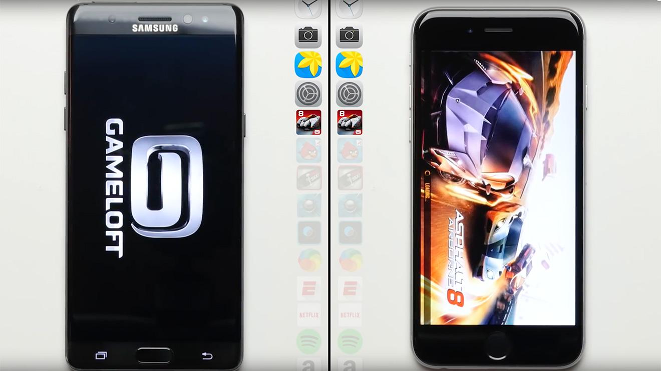 iPhone 6s, Samsung Galaxy Note7'ye fark attı