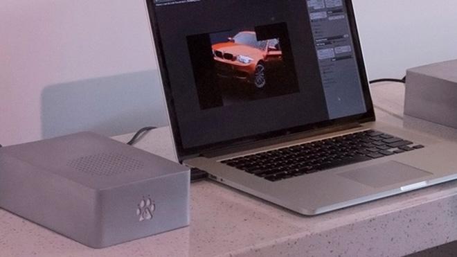 Mac'i performans canavarına dönüştüren harici ekran kartı