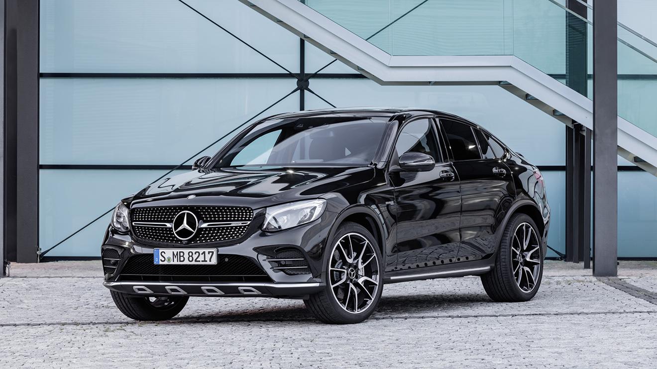 Mercedes-AMG GLC43 Coupe görücüye çıktı