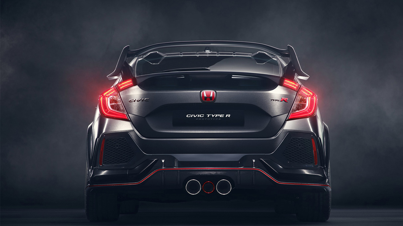Honda'nın geleceğe dönüşü: 2018 Honda Civic Type R [Video ...