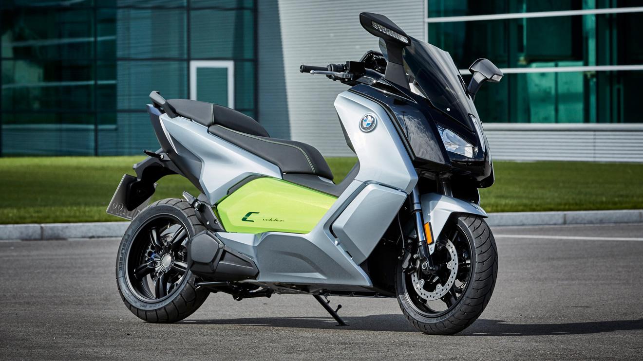 BMW'nin elektrikli scooter'ı C Evolution yenilendi