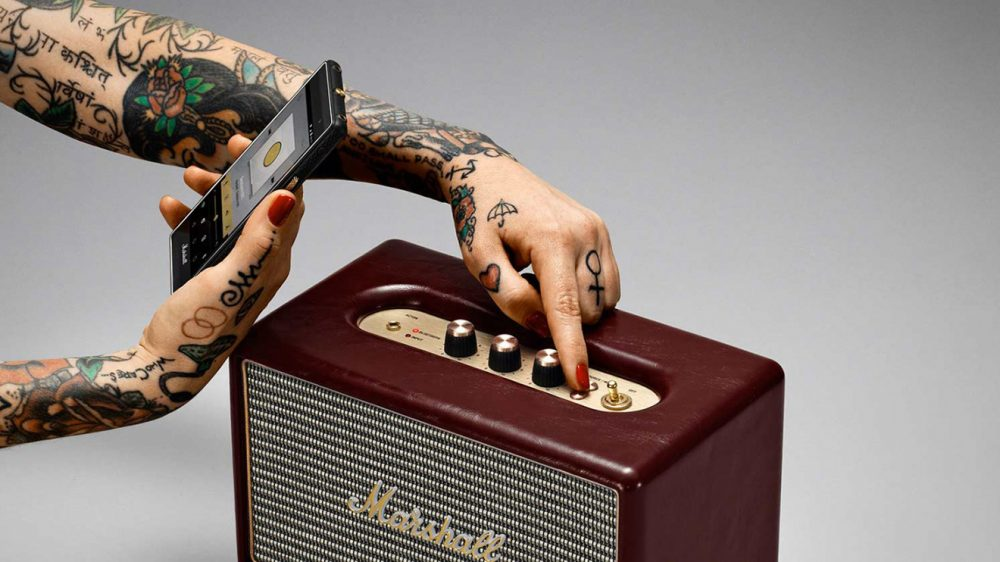Marshall Acton Oxblood Limited Edition