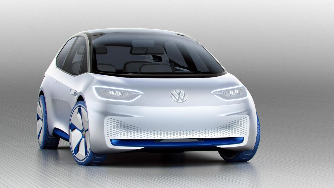 Geleceğin elektrikli otomobili Volkswagen I.D. ile tanışın